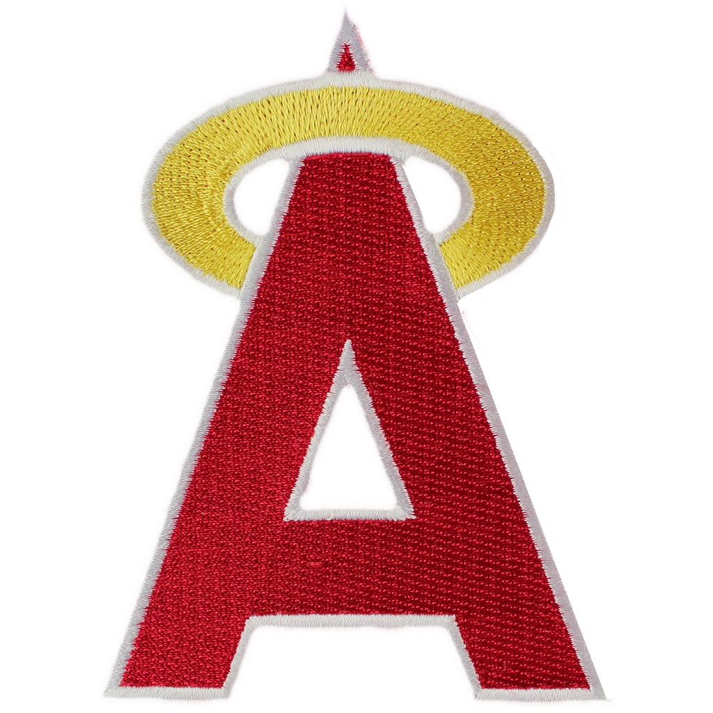 1972 - 1992 California Angels 'A' Logo Hat Patch
