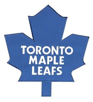 Toronto Maple Leafs Blue Large Front Logo Patch (Road Jerseys)