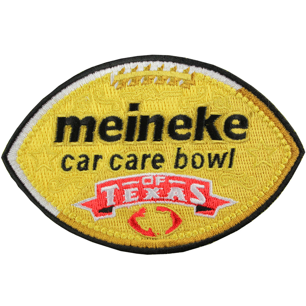 Meineke Car Care Texas Bowl Game Jersey Patch in Houston