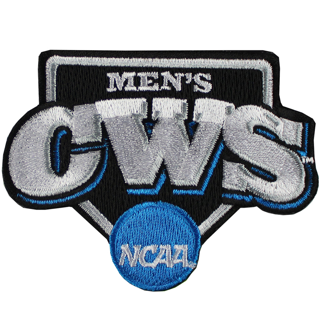 Men's College World Series NCAA Omaha Nebraska Jersey Sleeve Patch (UCLA VS MISSISSIPPI ST.)