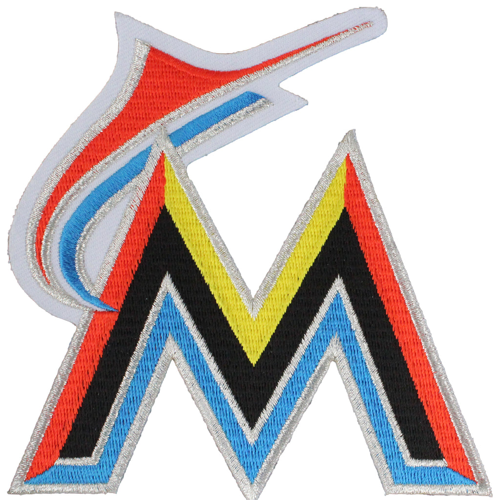 Miami Marlins Primary Team Logo Jersey Sleeve Patch (2012)