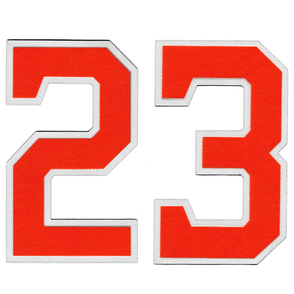 Houston Michael Brantley Front Number 23 Rainbow & Alternate Jersey Lettering Kit Poly Pro Twill Iron-On