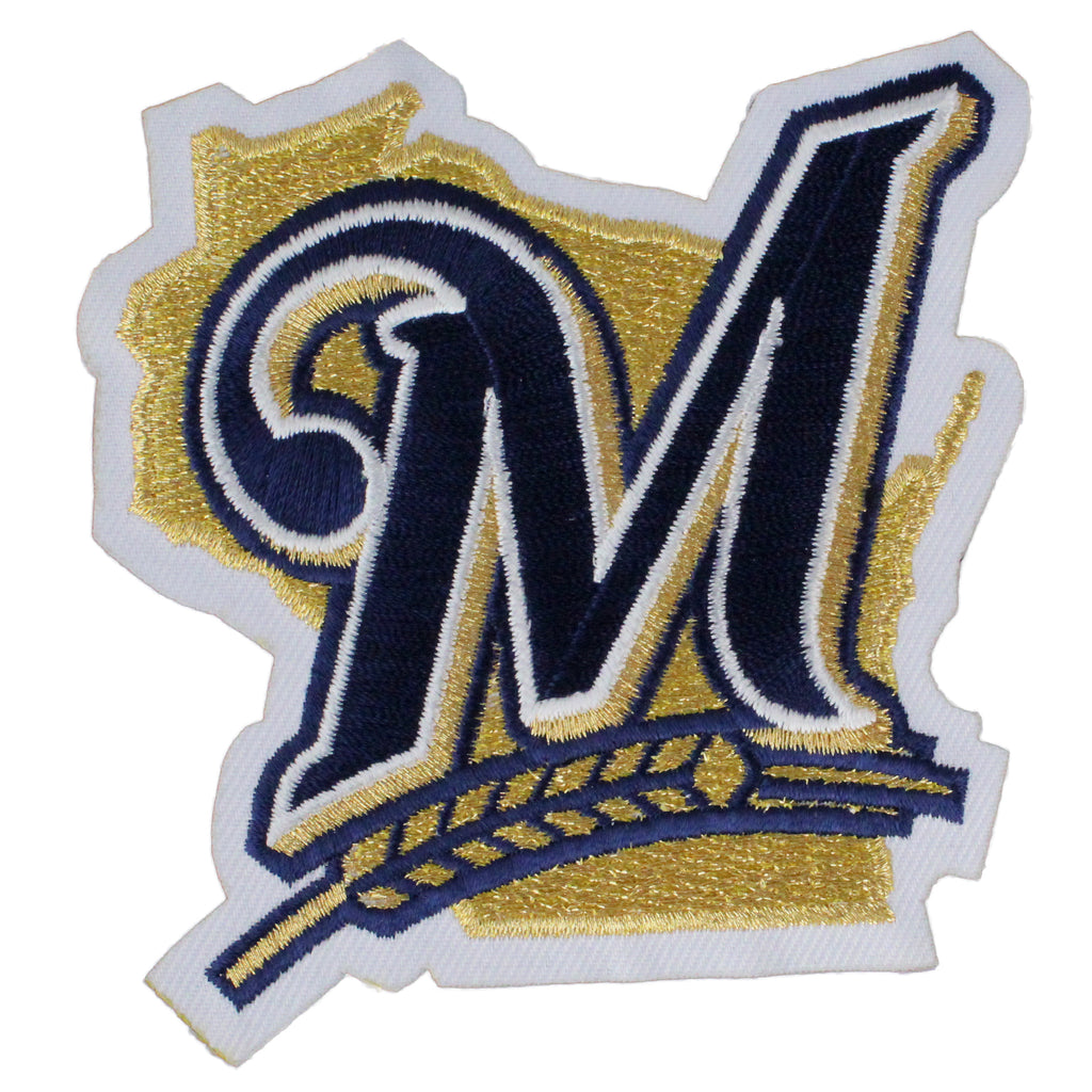 Milwaukee Brewers Home Jersey Sleeve Patch