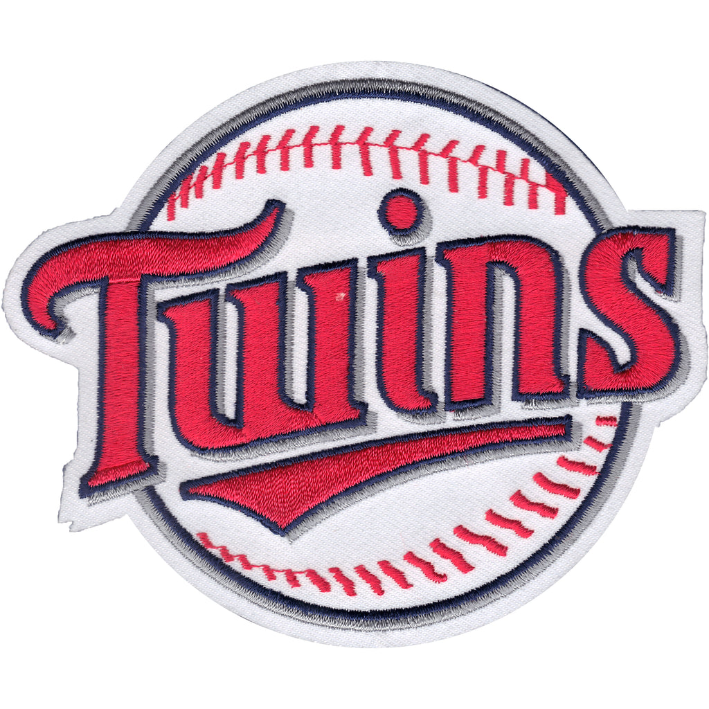 Minnesota Twins Secondary Round Ball Team Logo Patch
