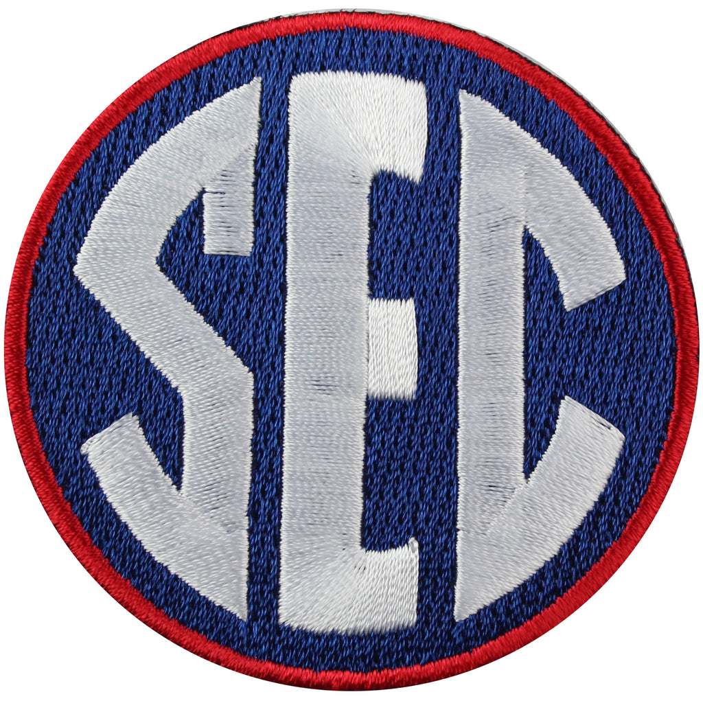 SEC Conference Team Jersey Uniform Patch Ole Miss Rebels