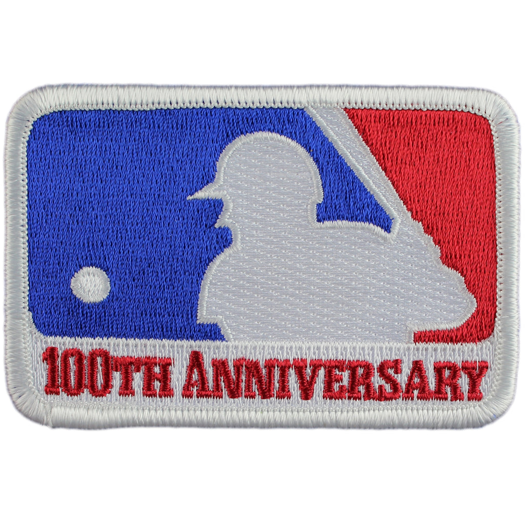 MLB Major League Baseball 100th Anniversary Patch (1969)