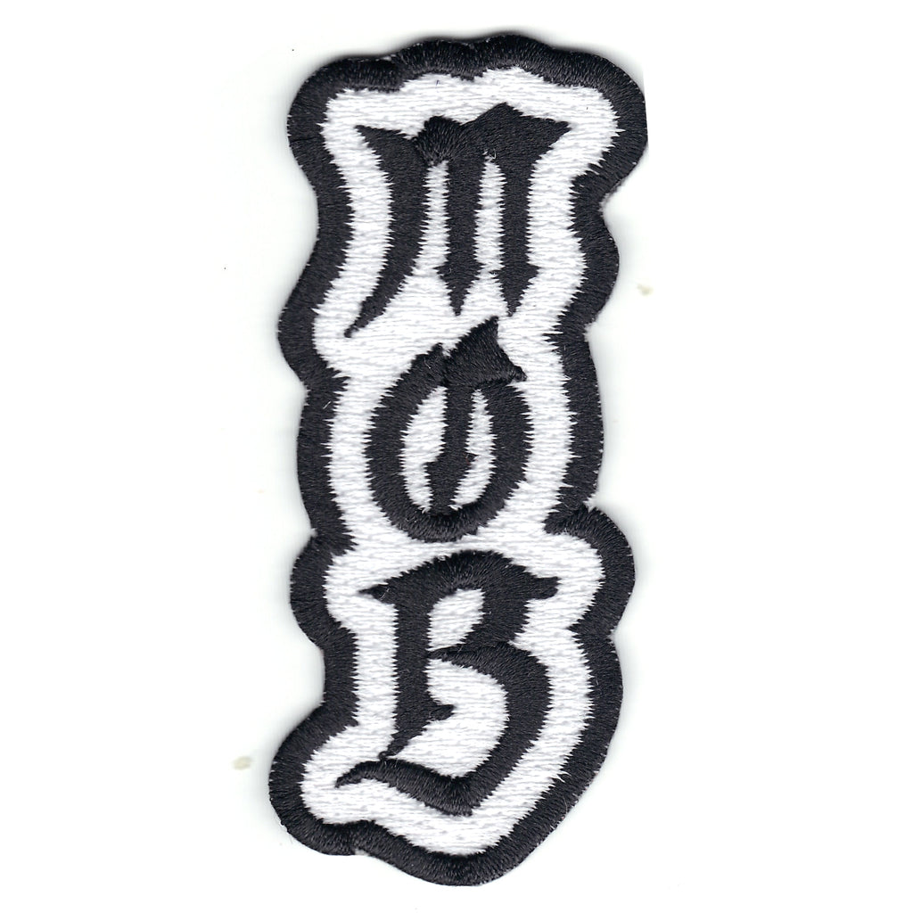 M.O.B Money Over Bitches Tattoo Iron On Patch