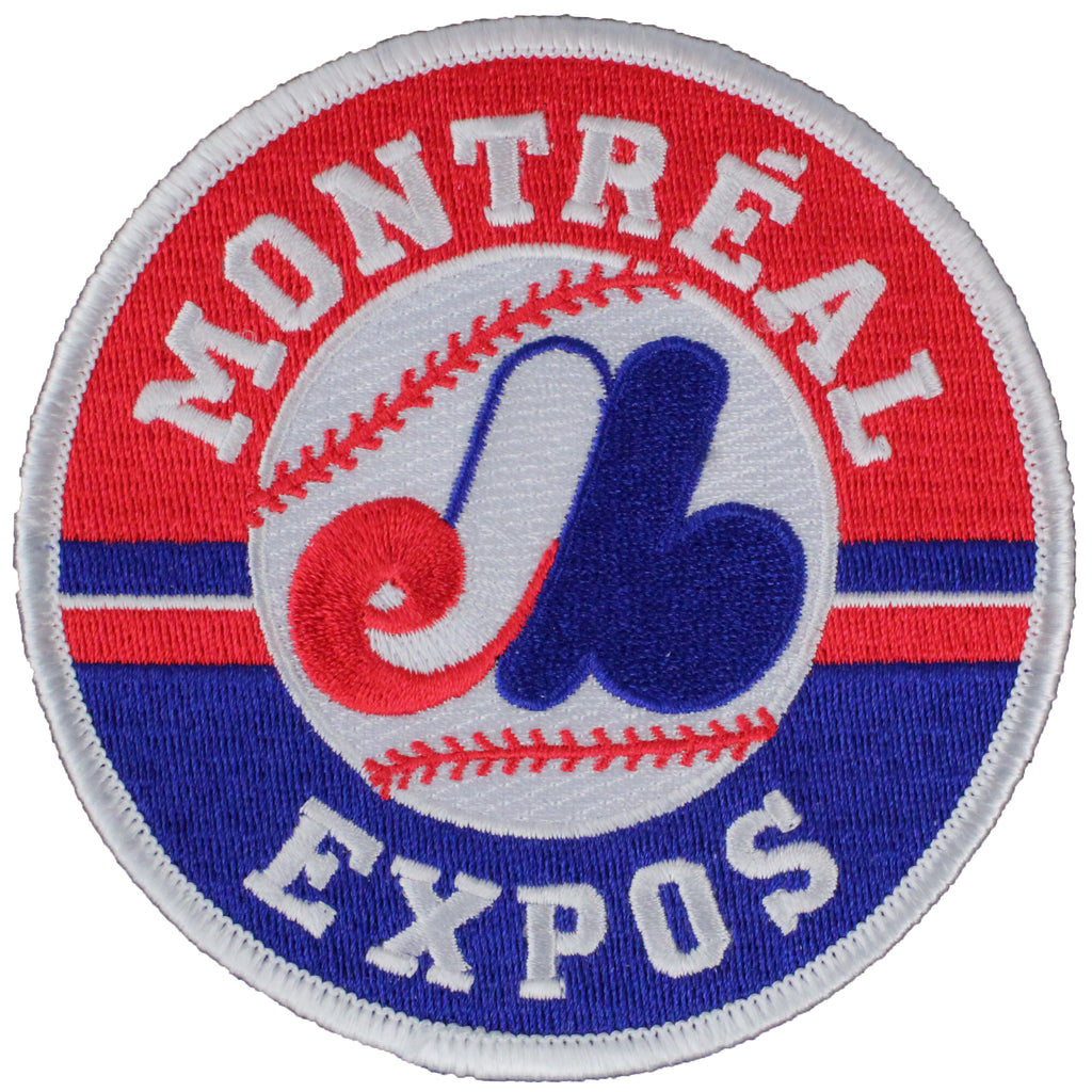 Montreal Expos Primary Team Logo Patch