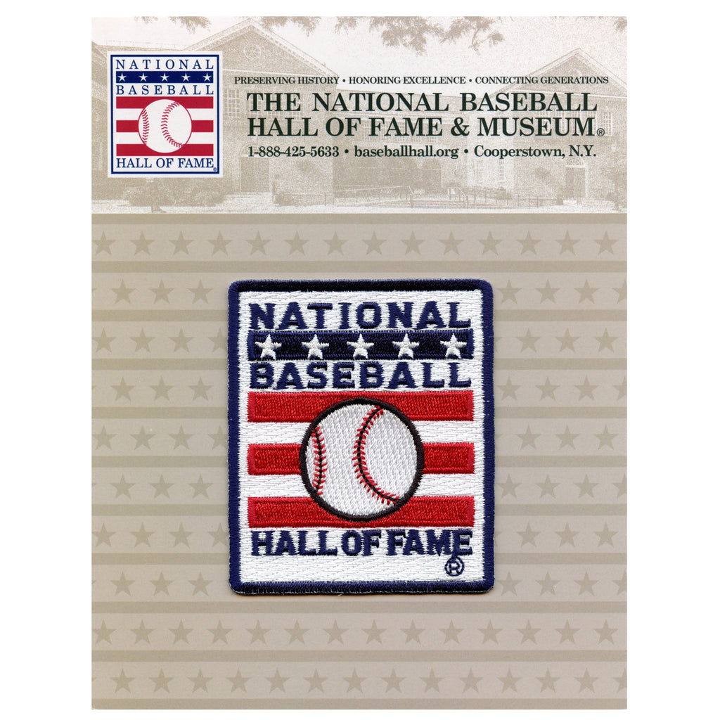 National Baseball Hall Of Fame Logo Patch