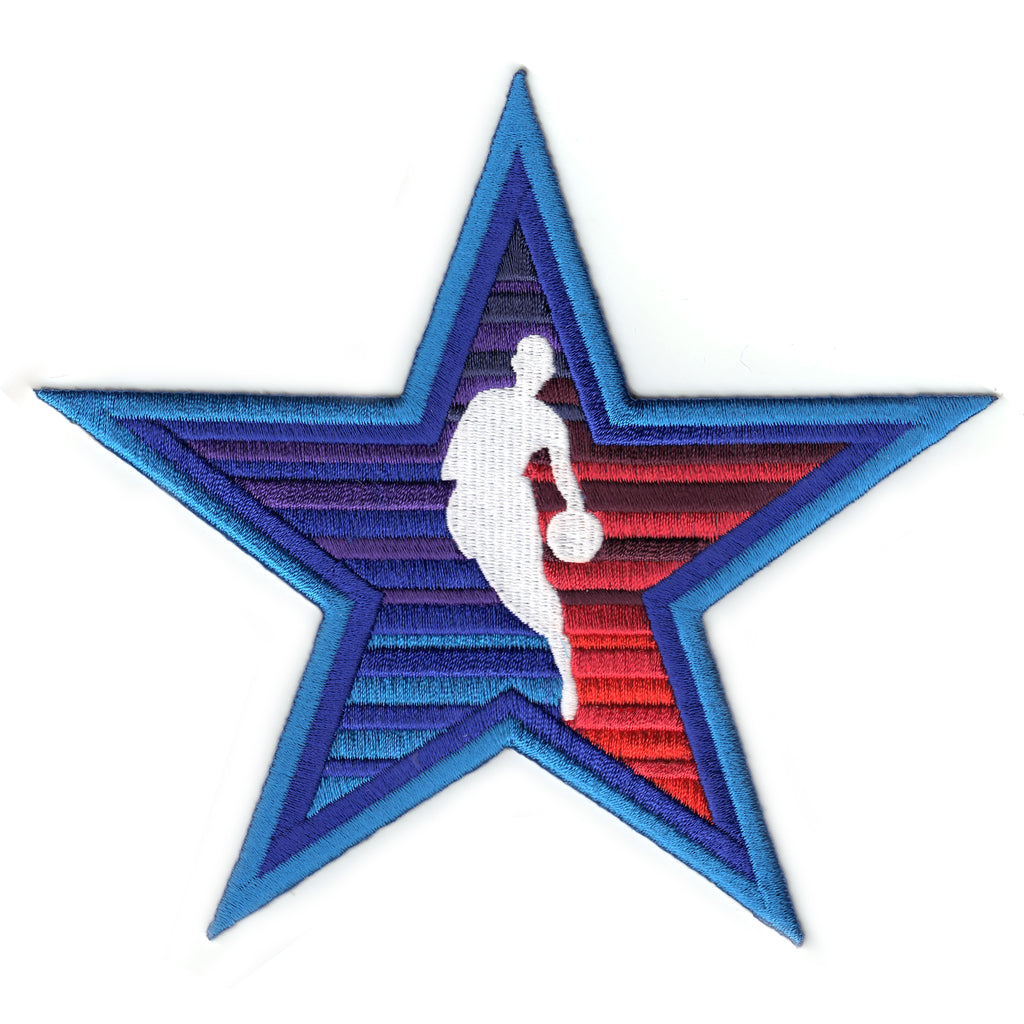 NBA All Star Alternate Logo Game Patch