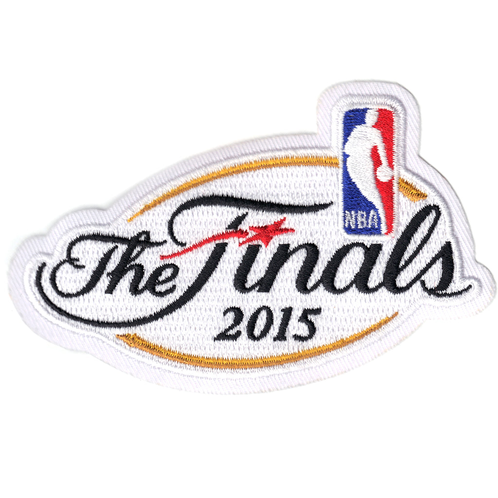 Official NBA 'The Finals 2015 Championship Patch