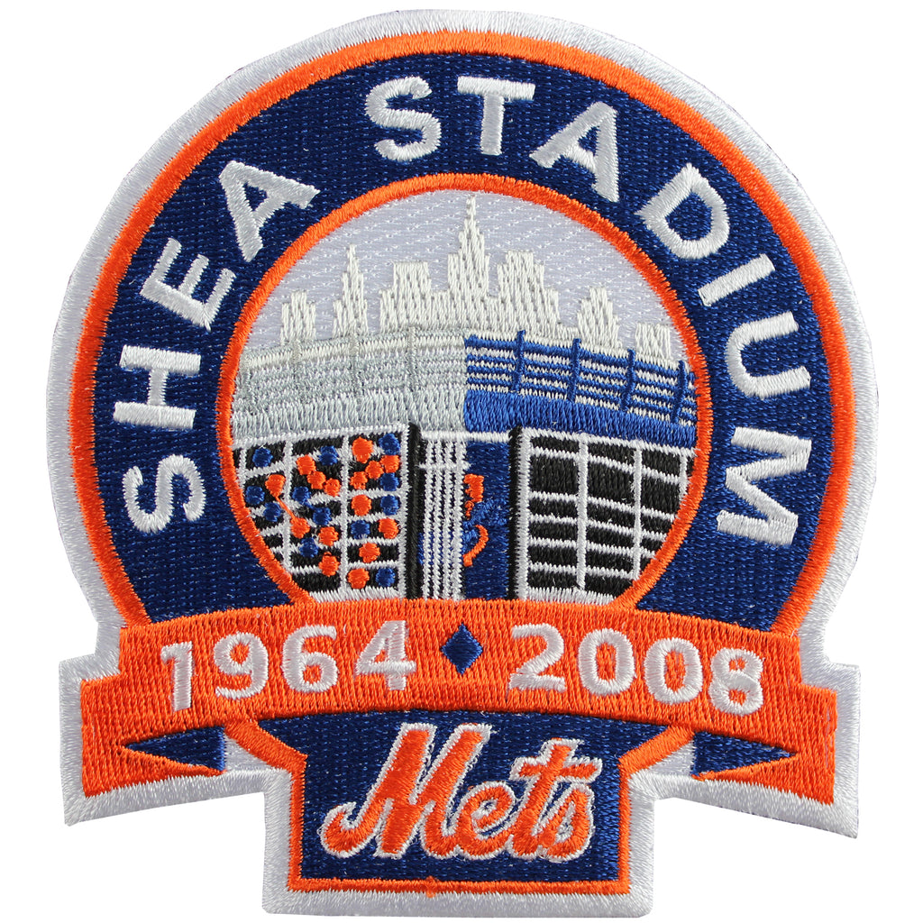 "2008 New York Mets ""Shea Stadium"" Closing Jersey Patch"