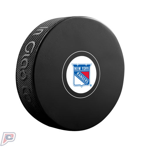 New York Rangers Autograph Collectors NHL Hockey Game Puck
