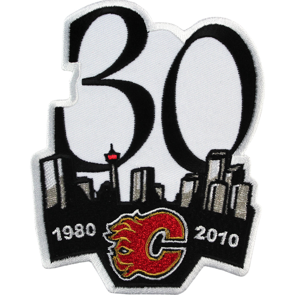 2010 Calgary Flames 30th Anniversary Jersey Patch