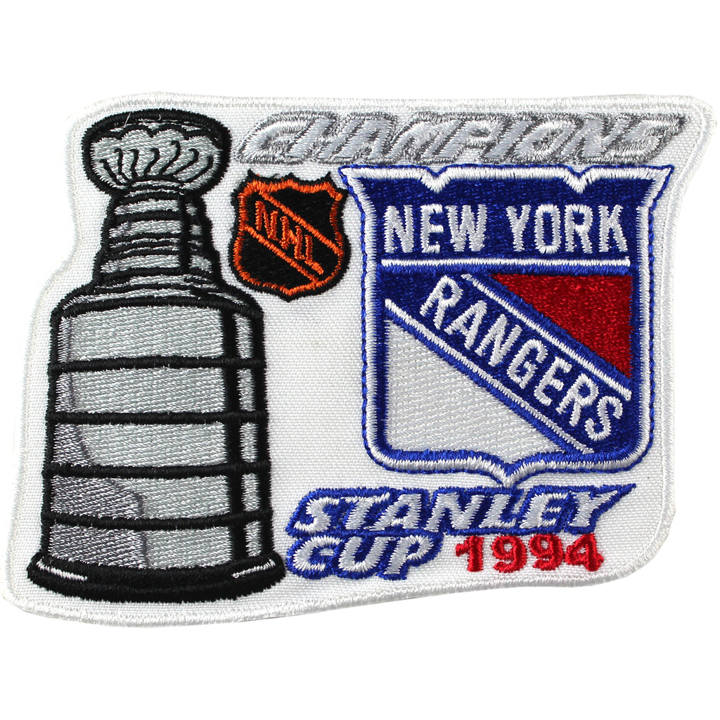 1994 NHL Stanley Cup Finals Champions New York Rangers Patch