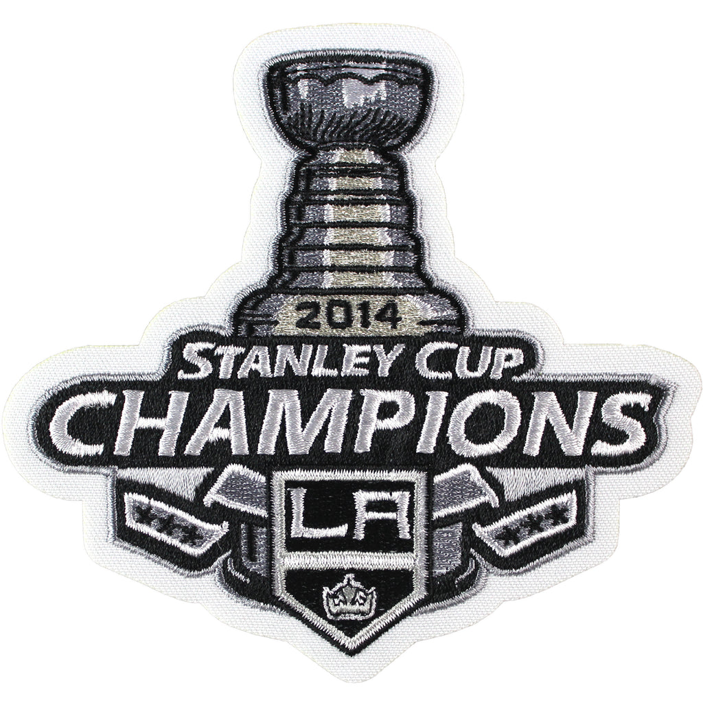 2014 NHL Stanley Cup Final Champions Los Angeles Kings Jersey Patch