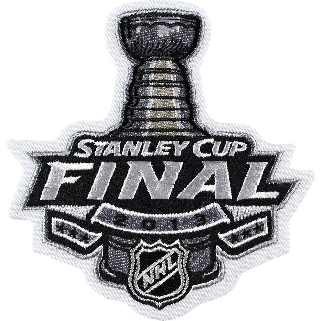 2013 NHL Stanley Cup Final Logo Jersey Patch Boston Bruins vs. Chicago Blackhawks