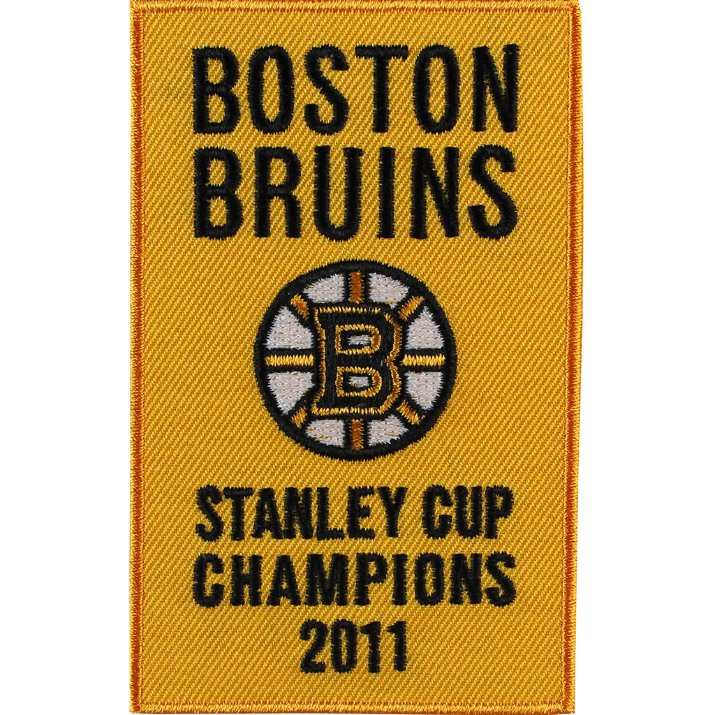 2011 Boston Bruins Stanley Cup Champions Banner Jersey Patch