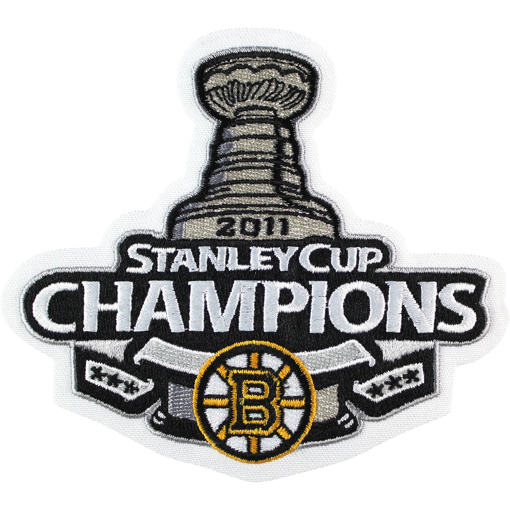 2011 NHL Stanley Cup Final Champions Boston Bruins Jersey Patch