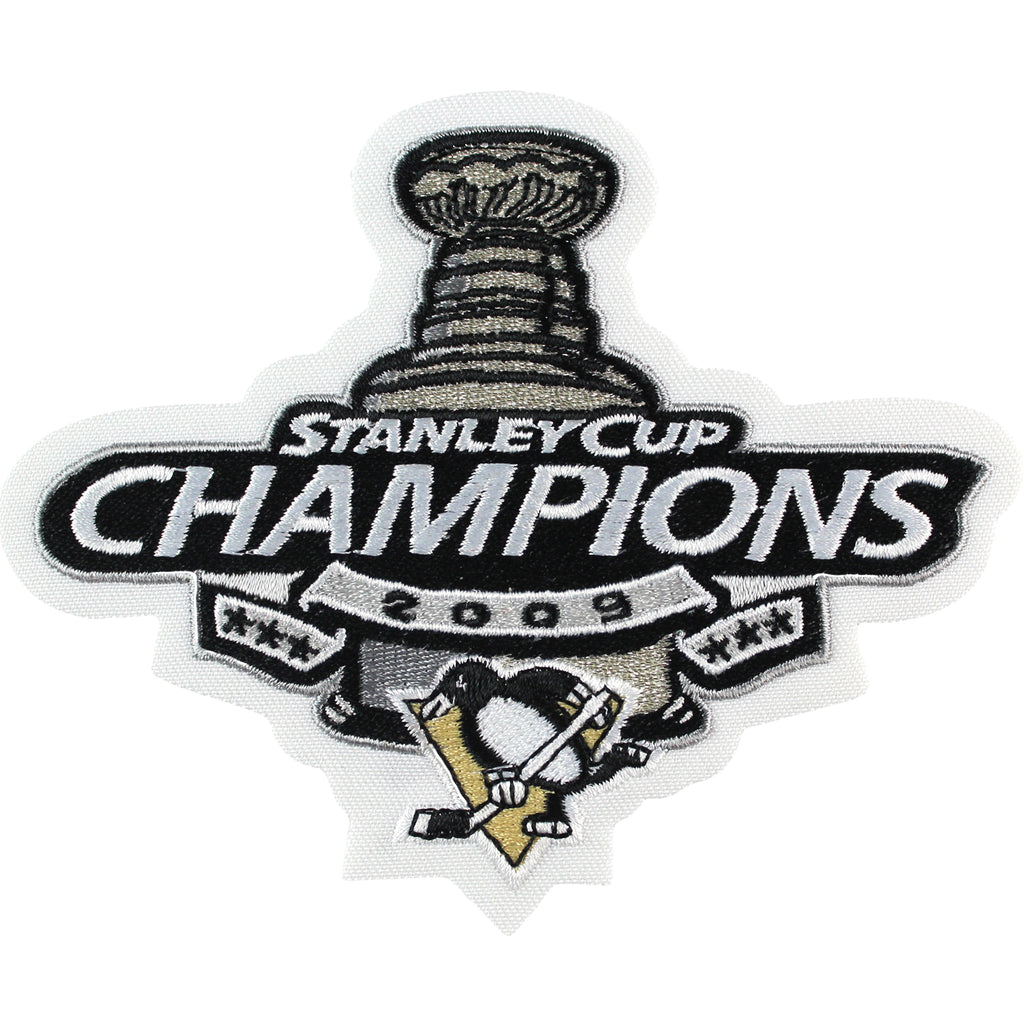 2009 NHL Stanley Cup Champions Jersey Patch Pittsburgh Penguins