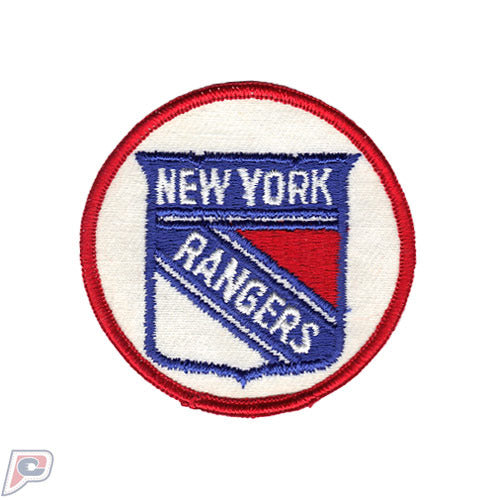 1970'S New York Rangers NHL Hockey Vintage Round Team Logo Patch