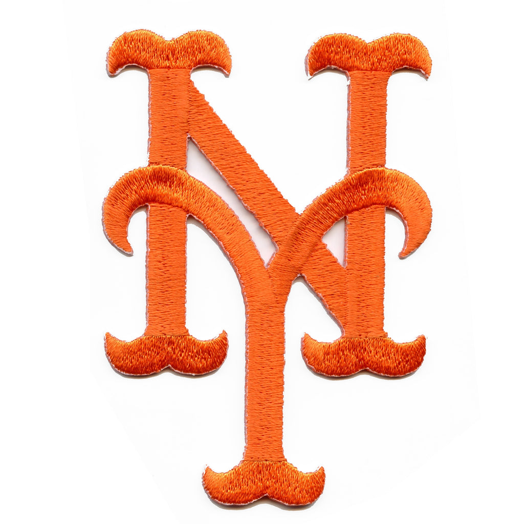 New York Mets Hat Logo Iron On Embroidered Patch