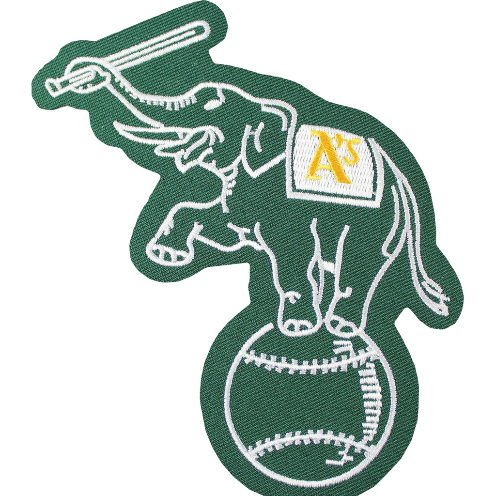 Oakland A's Athletics Elephant On Ball Jersey Sleeve Patch