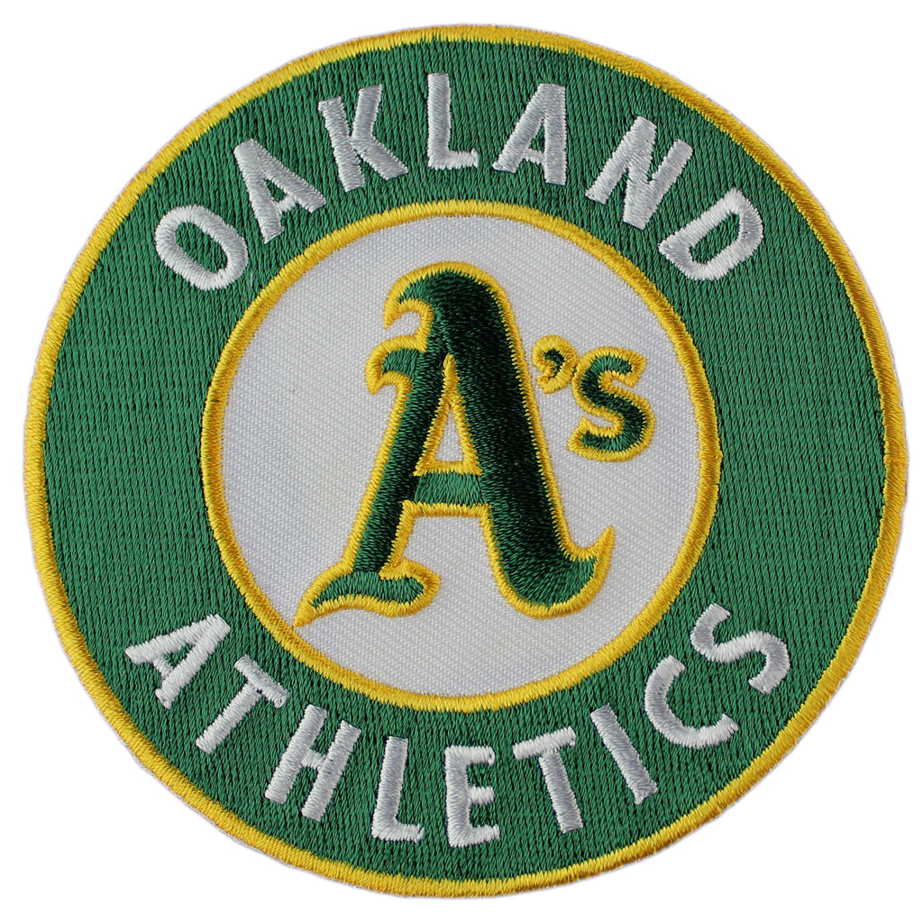 Oakland A's Athletics Primary Team Logo Patch