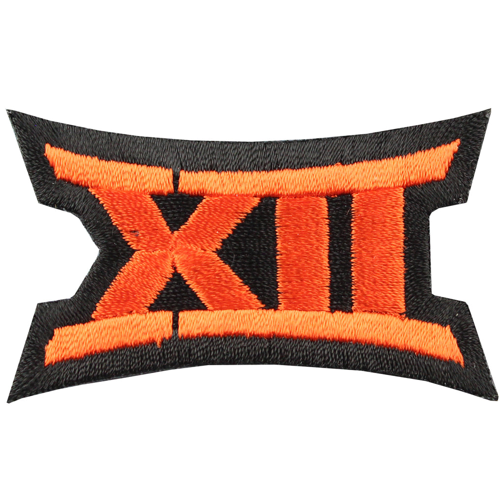 Big 12 XII Conference Team Jersey Uniform Patch Oklahoma State Cowboys