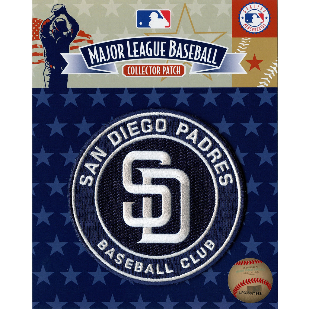 San Diego Padres Primary Team Logo Patch 'Baseball Club' 2012