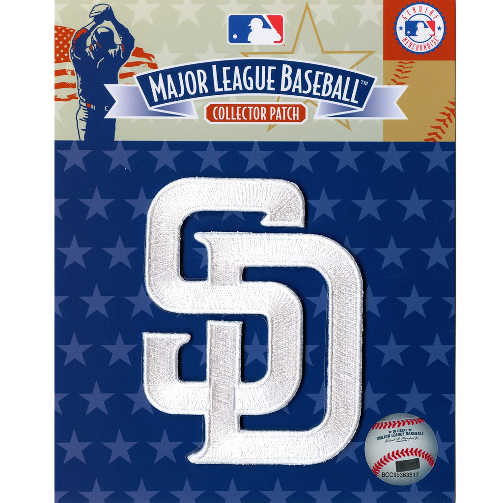 San Diego Padres 'SD' White Sleeve Patch
