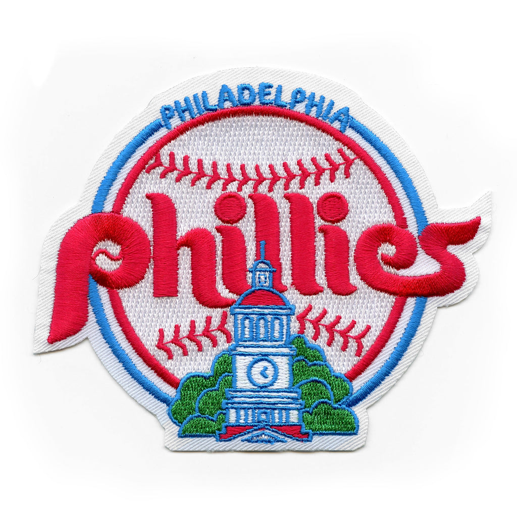 Philadelphia Phillies Retro Primary Team Logo Patch (1984-1991)
