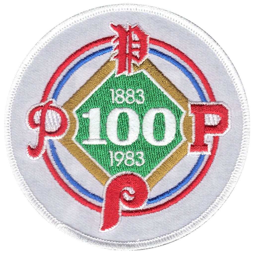 1983 Philadelphia Phillies 100th Anniversary Patch