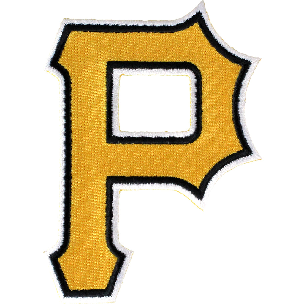 Pittsburgh Pirates 'P' Hat Logo Patch