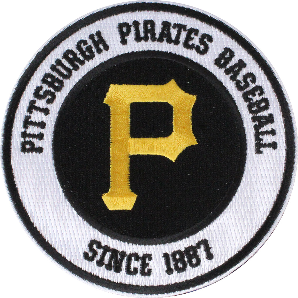 Pittsburgh Pirates Round Secondary Team Logo Patch