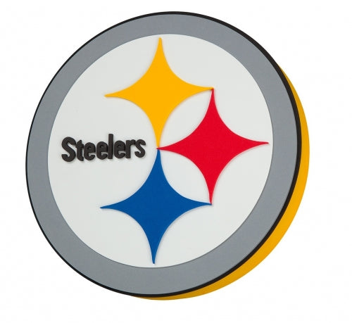 Pittsburgh Steelers 3D Foam Sign Wall Display
