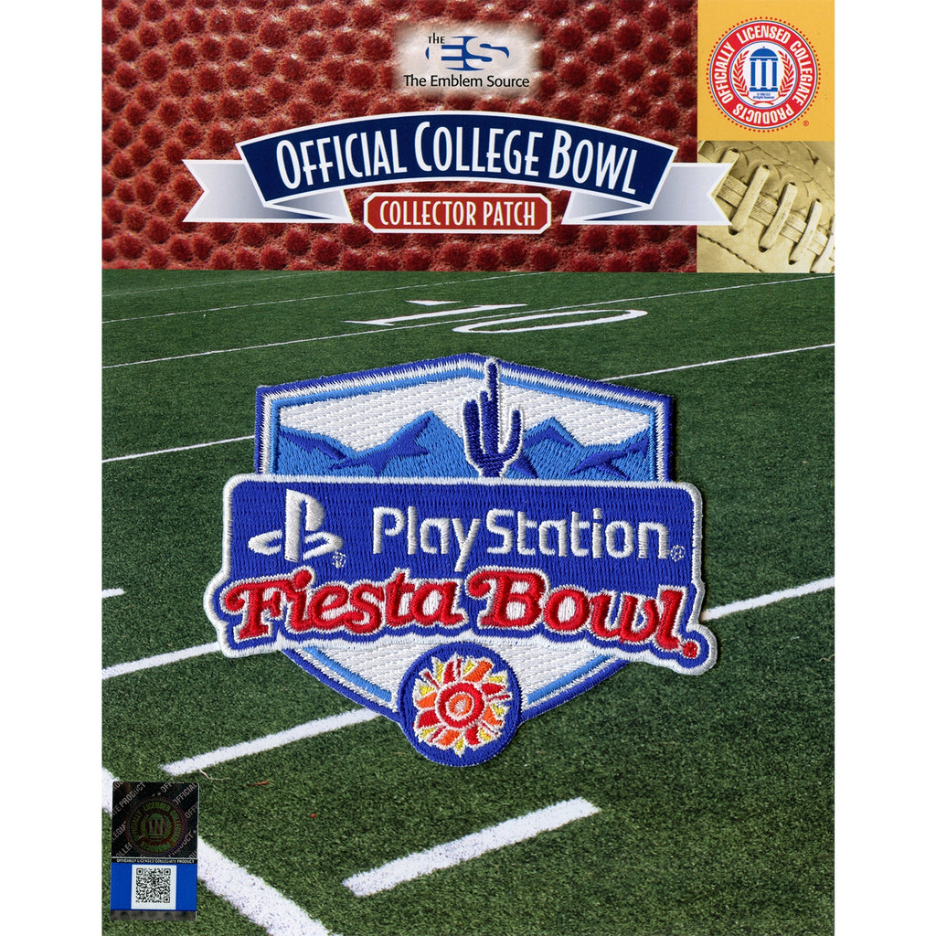 PlayStation Fiesta Bowl Jersey Patch 2019 (Ohio State Clemson)