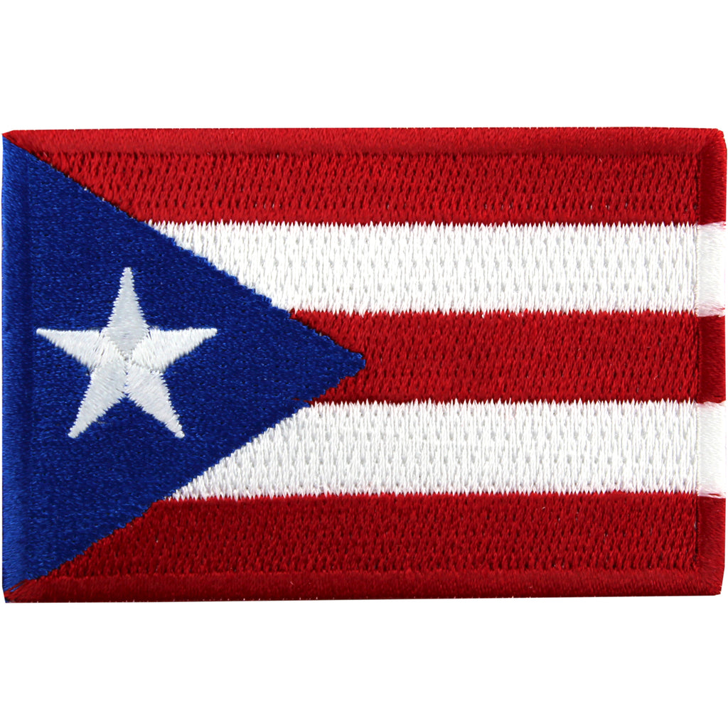 Puerto Rico Embroidered Country Flag Patch