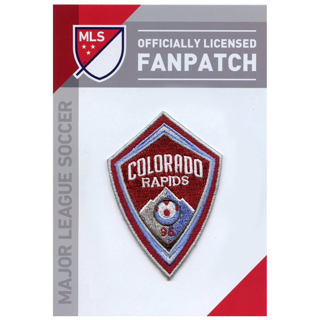 Colorado Rapids Primary Team Crest Embroidered Jersey Patch