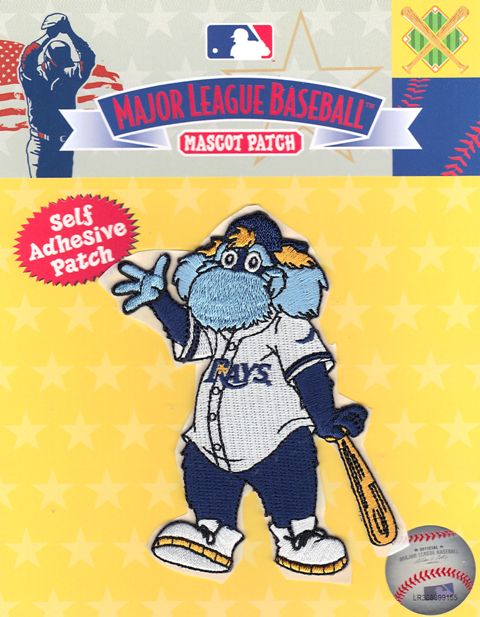 "Tampa Bay Rays Team Mascot ""Raymond"" Self Adhesive Patch"