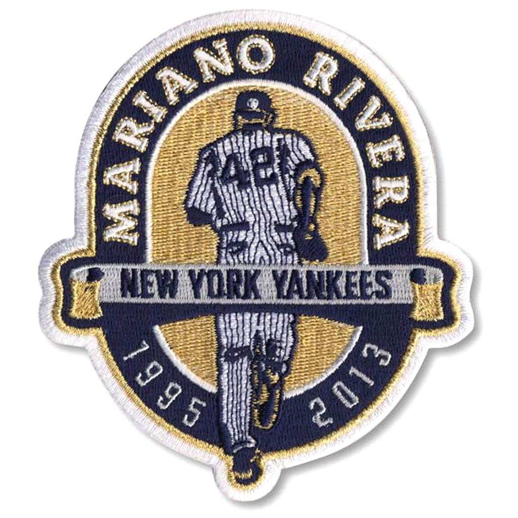 Mariano Rivera Retirement New York Yankees Logo Patch (2013)