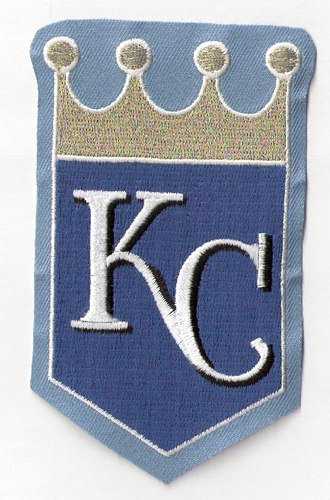 Kansas City Royals Sleeve Jersey Sleeve Patch (Powder Blue)