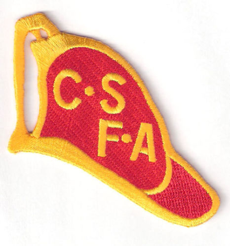 "Los Angeles Kings ""CSFA"" California State Firefighters Association Patch (2007-08)"