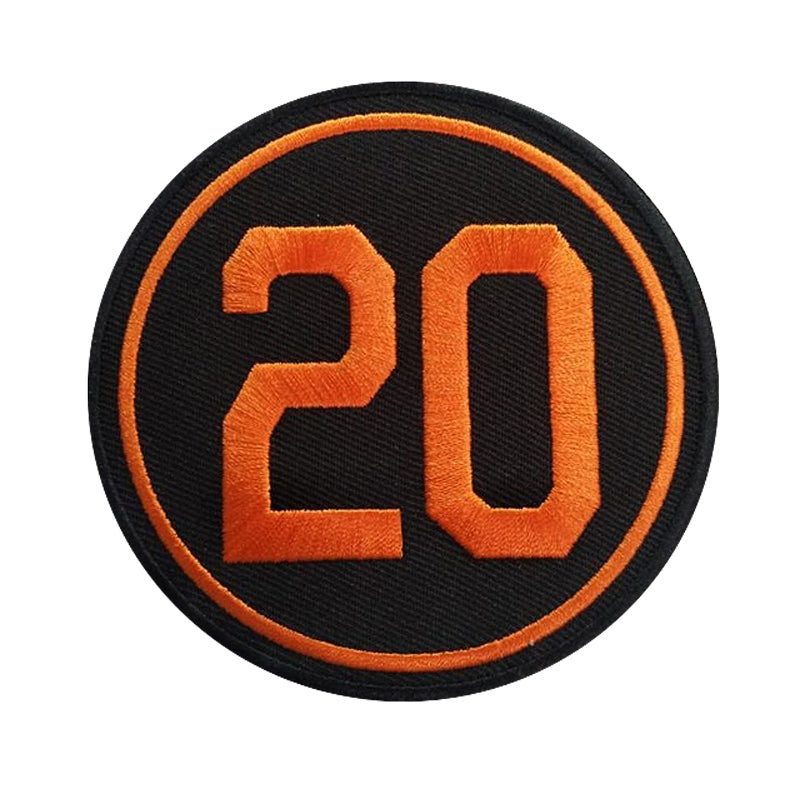 2019 Frank Robinson #20 Baltimore Orioles Jersey Patch