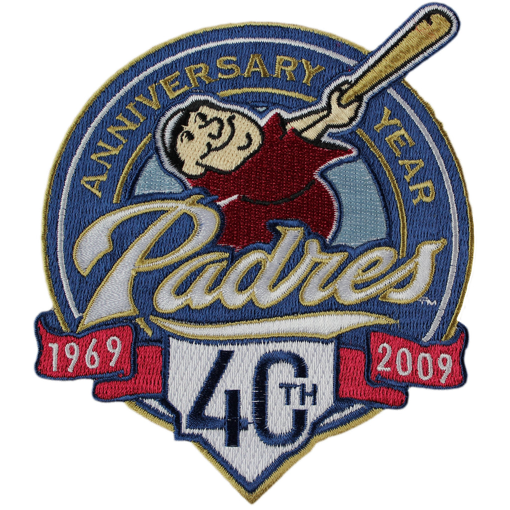 2009 San Diego Padres 40th Anniversary Patch