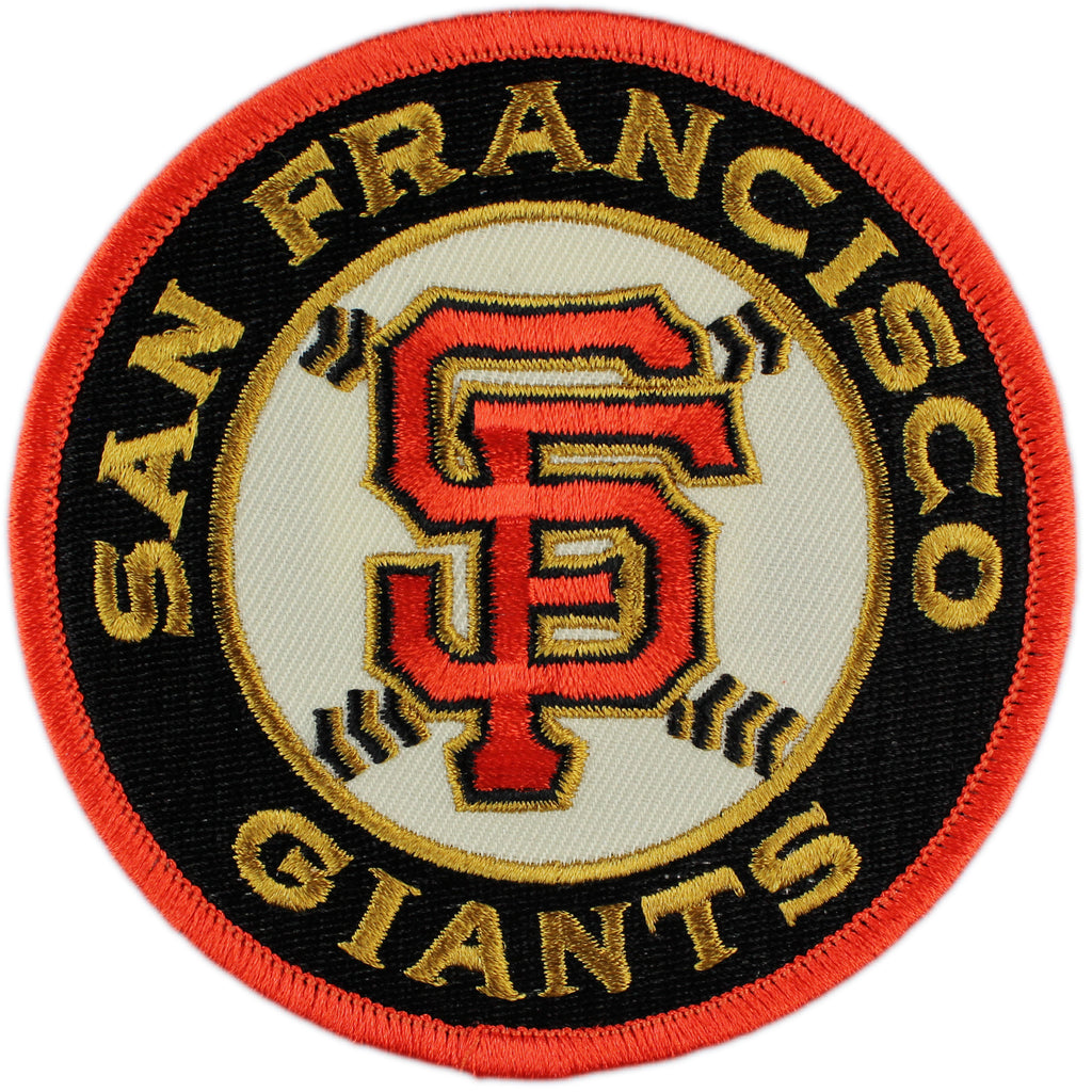 San Francisco Giants Road Sleeve Patch