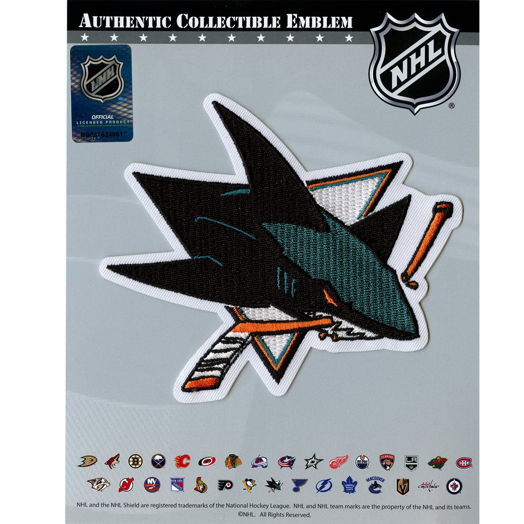 San Jose Sharks Primary Team Logo Patch