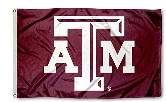 Texas A&M Aggies Team Logo Flag 3' X 5'