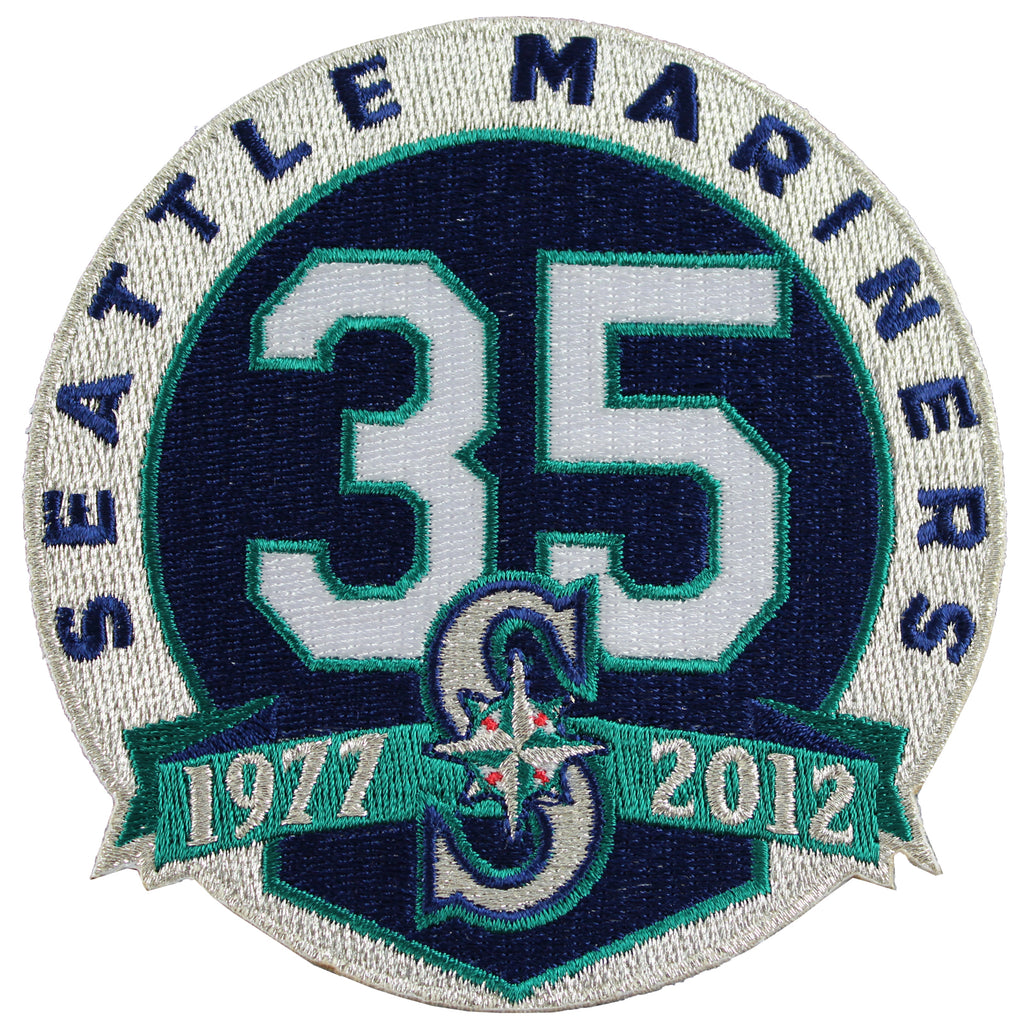 2012 Seattle Mariners 35th Anniversary Patch