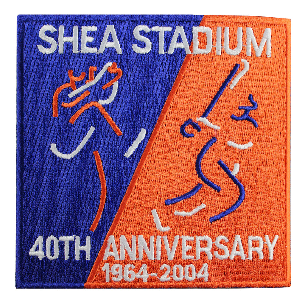 New York Mets Shea Stadium 40th Anniversary Patch (2004)